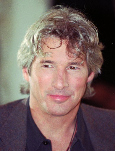 "<div class=""meta ""><span class=""caption-text "">People's Sexiest Man Alive 1993: Richard Gere. American actor Richard Gere during a press conference at Hamburg's Atlantic hotel, Thursday, May 23, 1996.  (AP Photo/ MICHAEL PROBST)</span></div>"