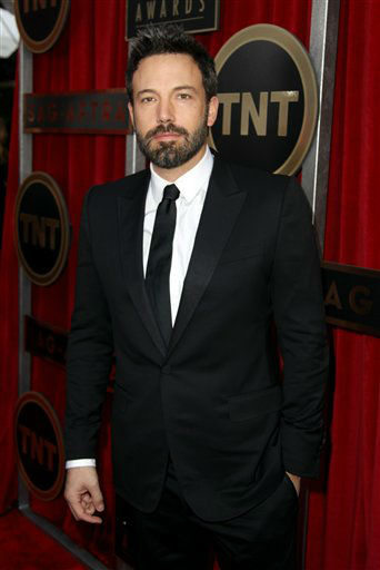 Director Ben Affleck arrives at the 19th Annual Screen Actors Guild Awards at the Shrine Auditorium in Los Angeles on Sunday, Jan. 27, 2013. &#40;Photo by Matt Sayles&#47;Invision&#47;AP&#41; <span class=meta>(Photo&#47;Matt Sayles)</span>
