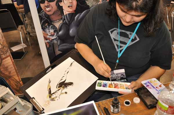 It&#39;s the biggest convention in Texas for gamers, comic book enthusiasts and anime lovers, who can dress up and stock up on goodies <span class=meta>(KTRK Photo&#47; Mena El-Sharkawi)</span>