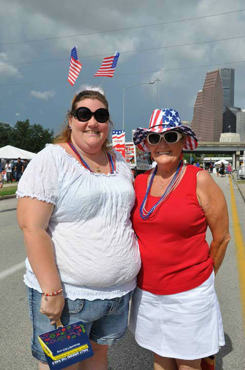 Many came out to celebrate our freedom at Eleanor Tinsley Park with Freedom Over Texas on Wednesday, July 4, 2012 <span class=meta>(KTRK Photo&#47; Blanca Beltran)</span>