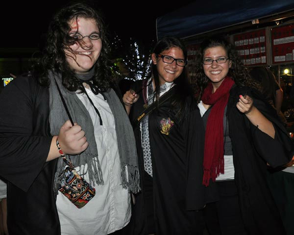 Fans packed CityCentre in west Houston to watch the midnight premiere of Harry Potter and the Deathly Hallows ? Part 2, the last of the series based on the books <span class=meta>(KTRK Photo)</span>