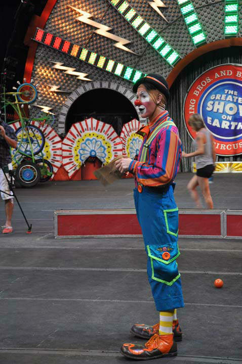 "<div class=""meta ""><span class=""caption-text "">Ringling Bros. and Barnum & Bailey held a once-in-a-lifetime opportunity at Reliant Wednesday, July 25, 2012, for aspiring clowns to audition to become part of the World Famous circus. (KTRK Photo)</span></div>"
