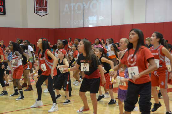 "<div class=""meta image-caption""><div class=""origin-logo origin-image ""><span></span></div><span class=""caption-text"">The Rockets organization held its auditions for the top Little Dippers  at Toyota Center, Saturday, July 28th.  These performers (boys and girls agest 6-14) will entertain fans during player introductions, timeouts and halftime. (KTRK Photo/ Blanca Beltran)</span></div>"