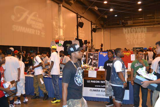 Many sneaker lovers from all over Texas packed the Reliant Center on Sunday, July 29, to attend the H-Town Sneaker Summit. <span class=meta>(KTRK Photo&#47; Alex Green)</span>