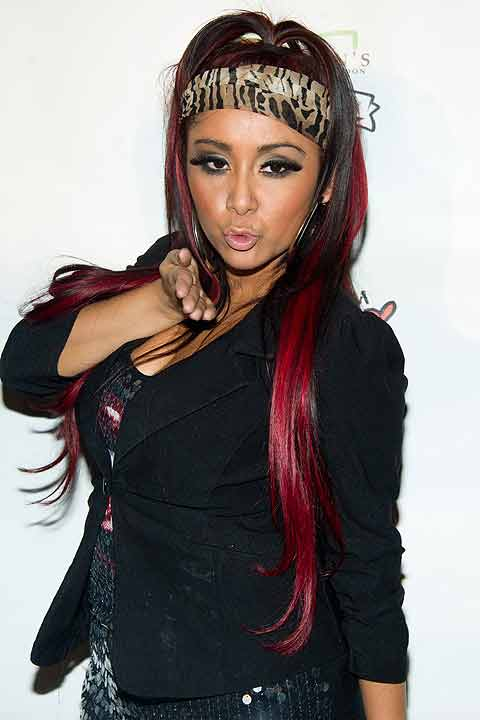 Nicole &#34;Snooki&#34; Polizzi attends a press event in New York, Thursday, Jan. 12, 2012.  If the rumors are true, Snooki could be among the celebrities competing on the dance floor this season.  Watch the official announcement of the cast during &#34;Good Morning America&#34; on Wednesday.  Season 17 of &#34;Dancing with the Stars&#34; kicks off on Monday, September 16. <span class=meta>(&#40;AP Photo&#47;Charles Sykes&#41;)</span>