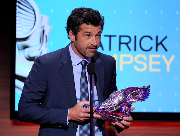 According to Forbes Magazine, actor Patrick Dempsey made the list of highest paid TV actors by bringing in &#36;10 million. <span class=meta>(AP)</span>
