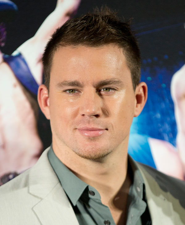 "'Sexiest Man Alive' in 2012:  U.S. actor Channing Tatum poses during a photo call for the movie ""Magic Mike"" in Berlin, Germany, Thursday, July 12, 2012. (AP Photo/Gero Breloer)"
