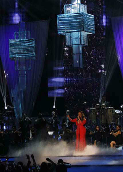Jenni Rivera performs during the Latin Billboard Awards in Coral Gables, Fla., Thursday April 26, 2012. &#40;AP Photo&#47;Lynne Sladky&#41; <span class=meta>(Photo&#47;Lynne Sladky)</span>
