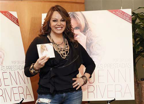 Jenni Rivera attends a press conference on Friday, Aug. 24, 2012, in Woodland Hills, California. &#40;Photo by Todd Williamson&#47;Invision&#47;AP&#41; <span class=meta>(Photo&#47;Todd Williamson)</span>