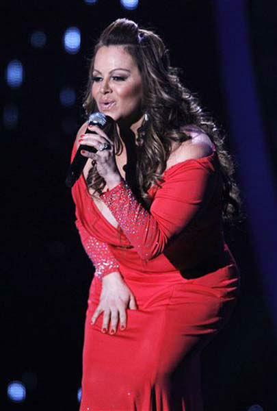 "<div class=""meta ""><span class=""caption-text "">FILE - In this April 26, 2012, file photo, singing superstar Jenni Rivera performs during the Latin Billboard Awards in Coral Gables, Fla. Authorities in Mexico say the wreckage of a small plane believed to be carrying Rivera has been found on Sunday, Dec. 9, 2012, and there are no apparent survivors. (AP Photo/Lynne Sladky, file) (Photo/Lynne Sladky)</span></div>"