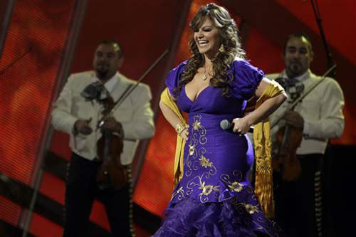 Jenni Rivera performs &#34;Ya Lo Se&#34; onstage at the 11th Annual Latin Grammy Awards on Thursday, Nov. 11, 2010, in Las Vegas. &#40;AP Photo&#47;Julie Jacobson&#41; <span class=meta>(Photo&#47;Julie Jacobson)</span>
