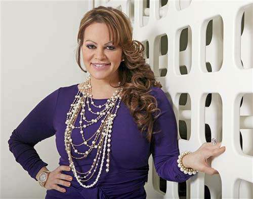 FILE - In this March 8, 2012, file photo, Mexican-American singer and reality TV star Jenni Rivera poses during an interview in Los Angeles. Mexican authorities confirmed that the plane in which Rivera was traveling disappeared early Sunday, Dec. 9, 2012, after leaving the Mexican northern city of Monterrey where she performed in concert on Saturday night. &#40;AP Photo&#47;Reed Saxon, file&#41; <span class=meta>(AP Photo&#47; Reed Saxon)</span>