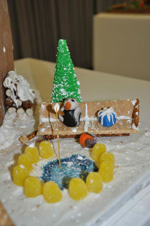 At least 27 teams of local architecture firms, design professional, students, and enthusiasts competed in the 4th Annual Gingerbread Build-Off.  Several awards were handed out acknowledging the most unique and creative gingerbread structures completed.  <span class=meta>(Photo&#47;ABC13)</span>