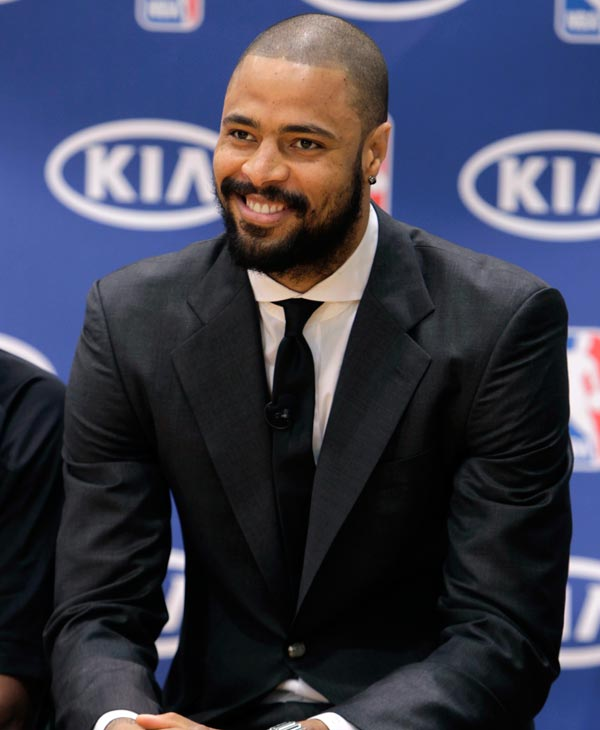 New York Knicks&#39; Tyson Chandler was #8 on GQ&#39;s most stylish list  Check out the full list here <span class=meta>(AP Photo)</span>