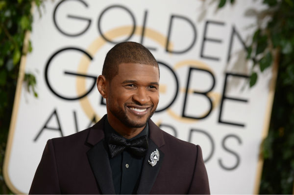 Usher arrives at the 71st annual Golden Globe Awards at the Beverly Hilton Hotel on Sunday, Jan. 12, 2014, in Beverly Hills, Calif.  User performs at Rodeo Houston on Friday, March 7, 2014.  &#40;Photo by Jordan Strauss&#47;Invision&#47;AP&#41; <span class=meta>(AP Photo&#47; Jordan Strauss)</span>