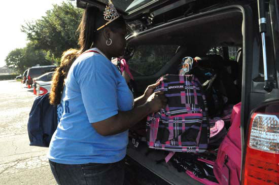 "<div class=""meta ""><span class=""caption-text "">The 8th annual YMCA Operation Backpack runs until 6pm today at the ABC13 Studios.  There are other drop-off locations around town.  ABC-13 reporter Elissa Rivas and her family made a donation for the first 113 people who liked her Facebook page.  (ABC13)</span></div>"