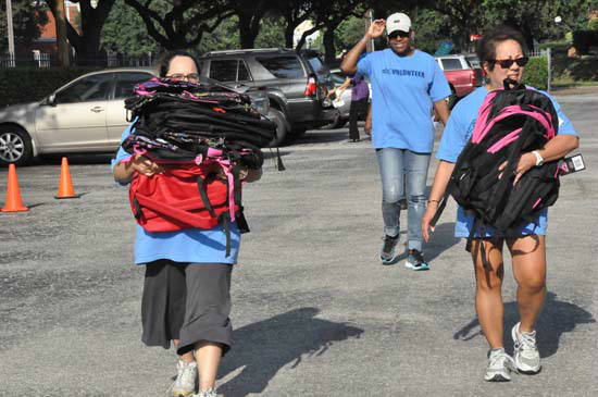The 8th annual YMCA Operation Backpack runs until 6pm today at the ABC13 Studios.  There are other drop-off locations around town.   <span class=meta>(ABC13)</span>