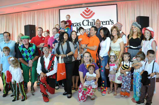 ABC13&#39;s Tom Koch participated in the 15th annual &#39;Bad Pants Fashion Show,&#39; a charity event benefiting Texas Children&#39;s Newborn Center.  The colorful and quirky runway show is the kick-off for the Bad Pants Open Golf Tournament on October 10th. <span class=meta>(Photo&#47;ABC13)</span>