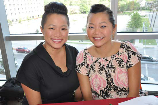 &#39;Project Runway&#39; winner Chloe Dao and her sister were judges at the annual &#39;Bad Pants Fashion Show. <span class=meta>(Photo&#47;ABC13)</span>
