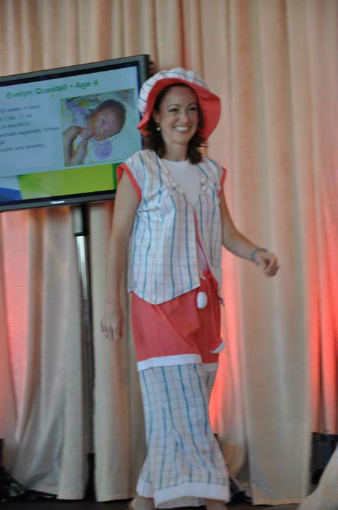 "<div class=""meta ""><span class=""caption-text "">ABC13's Tom Koch participated in the 15th annual 'Bad Pants Fashion Show,' a charity event benefiting Texas Children's Newborn Center.  The colorful and quirky runway show is the kick-off for the Bad Pants Open Golf Tournament on October 10th. (Photo/ABC13)</span></div>"