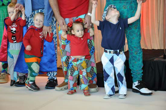 "<div class=""meta image-caption""><div class=""origin-logo origin-image ""><span></span></div><span class=""caption-text"">ABC13's Tom Koch participated in the 15th annual 'Bad Pants Fashion Show,' a charity event benefiting Texas Children's Newborn Center.  The colorful and quirky runway show is the kick-off for the Bad Pants Open Golf Tournament on October 10th. (Photo/ABC13)</span></div>"