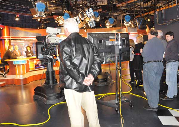 Images of ABC13 Eyewitness Sports Director Bob Allen over nearly 40 years of covering Houston sports. <span class=meta>(KTRK Photo)</span>