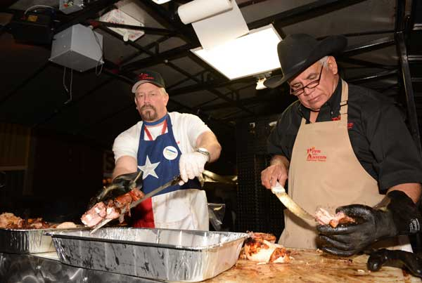 "<div class=""meta ""><span class=""caption-text "">The World's Championship Bar-B-Que Contest is three days of cooking, competition, eating and dancing to kick off the Houston Livestock Show and Rodeo. (John Mizwa/ABC13)</span></div>"