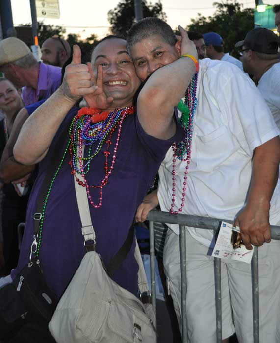 "<div class=""meta ""><span class=""caption-text "">Thousands of people braved the heat Saturday to participate in 35th annual Houston LGBT Pride Festival and parade in the Montrose area. The crowd at this year's day-long celebration was even more excited than usual because it happened just days after the Supreme Court made two rulings in favor of same-sex marriage in states where it is legal. (KTRK Photo/ Mena El-Sharkawi/Web producer)</span></div>"