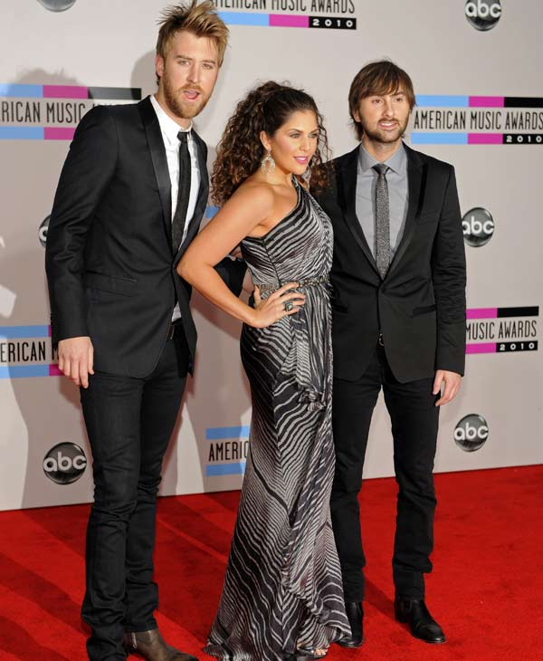 Lady Antebellum will take the stage on Friday, March 11th.  (AP Photo)