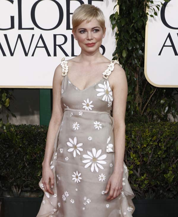 "Actress Michelle Williams was nominated for best actress for her role in ""Blue Valentine.""  (AP Photo/Matt Sayles)"