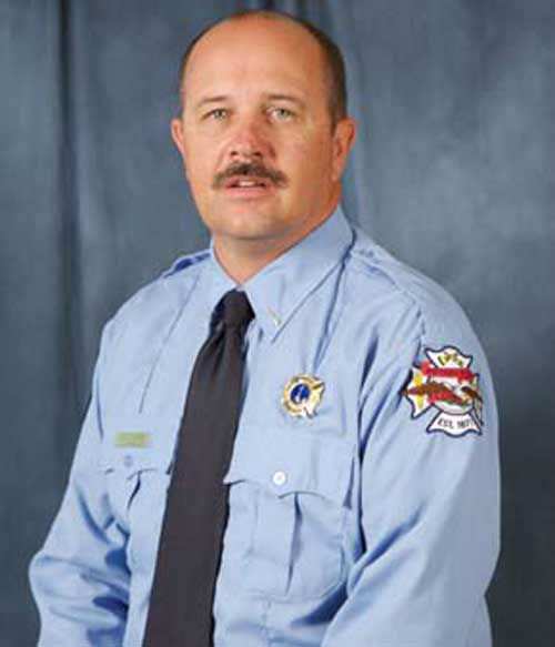 Lt. Gregory W. Pickard, 54, was injured in the line of duty at a fire at the Knights of Columbus hall in Bryan.  Lt. Pickard later died from his injuries. <span class=meta>(Courtesy of The City of Bryan)</span>