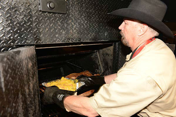 "<div class=""meta ""><span class=""caption-text "">The World's Championship Bar-B-Que Contest is three days of cooking, competition, eating and dancing to kick off the Houston Livestock Show and Rodeo. (KTRK Photo/ John Mizwa/ABC13 Photographer)</span></div>"