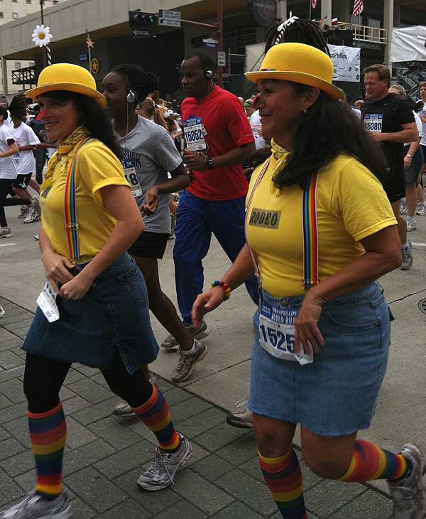 Many took part in the 24th annual ConocoPhillips Rodeo Run, which includes a 10K race and 5K fun run&#47;walk, on Saturday <span class=meta>(KTRK)</span>
