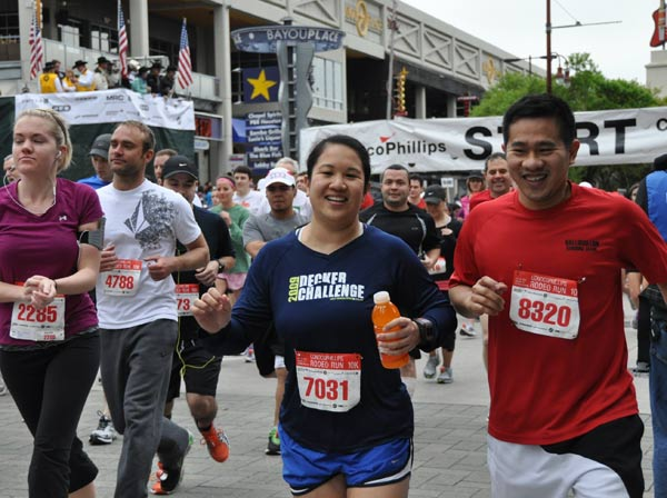 Many took part in the 25th annual ConocoPhillips Rodeo Run, which included a 10K race and 5K fun run&#47;walk  <span class=meta>(KTRK&#47;Blanca Beltran)</span>