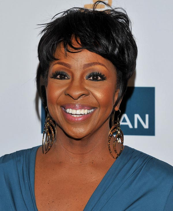 In this Feb. 11, 2012 file photo, Gladys Knight arrives at the Pre-GRAMMY Gala & Salute to Industry Icons with Clive Davis honoring Richard Branson in Beverly Hills, Calif. Knight will be among the 12 celebrity contestants on the next season of the ABC dancing competition, premiering March 19. (AP Photo)