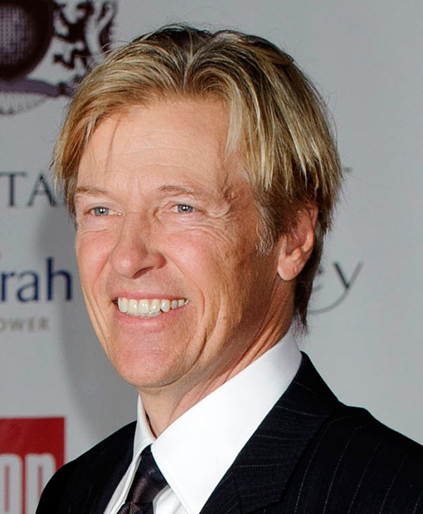 In this Aug. 5, 2011 file photo, actor Jack Wagner arrives for the Shooting Stars Benefit in London. Wagner will be among the 12 celebrity contestants on the next season of the ABC dancing competition, premiering March 19. (AP Photo/Jonathan Short, file)
