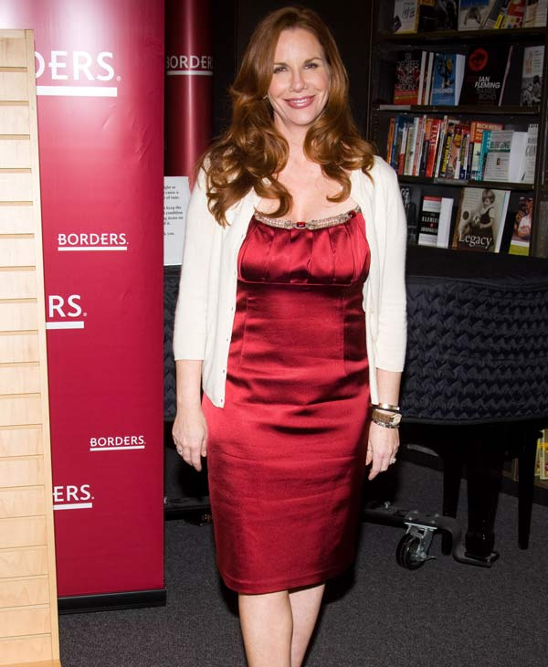 "Actress Melissa Gilbert appears at Borders Books to promote her autobiography ""Prairie Tail"" in New York, June 9, 2009. will be among the 12 celebrity contestants on the next season of the ABC dancing competition, premiering March 19.  (AP Photo/Charles Sykes)"