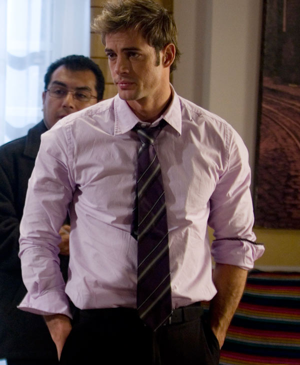 "In this Nov. 24, 2008 file photo, Cuban actor William Levy is shown during the filming of an episode of the ""Cuidado con el Angel"" or ""Careful with the Angel"" sopa opera at Televisa Network studios in Mexico City. Levy will be among the 12 celebrity contestants on the next season of the ABC dancing competition, premiering March 19.  (AP Photo, file)"