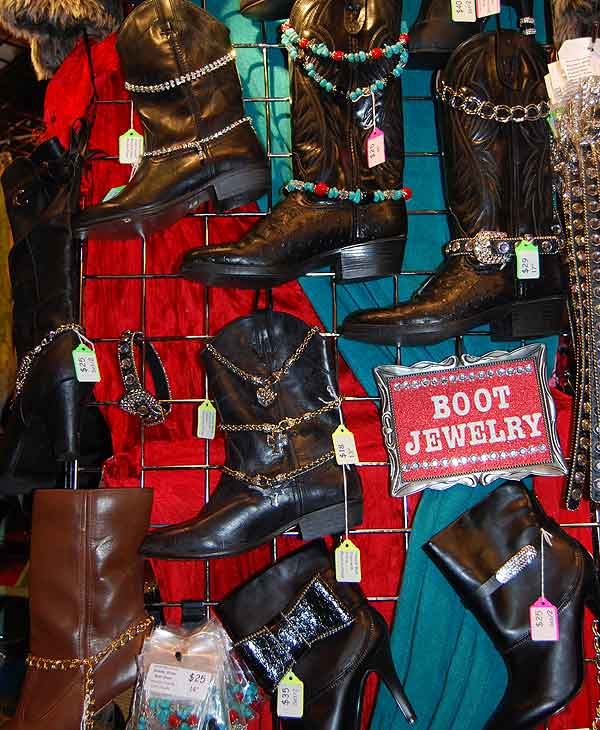 "<div class=""meta ""><span class=""caption-text "">There is plenty of shopping to do at the Houston Livestock Show and Rodeo (Photo by: Blanca Beltran) (KTRK)</span></div>"