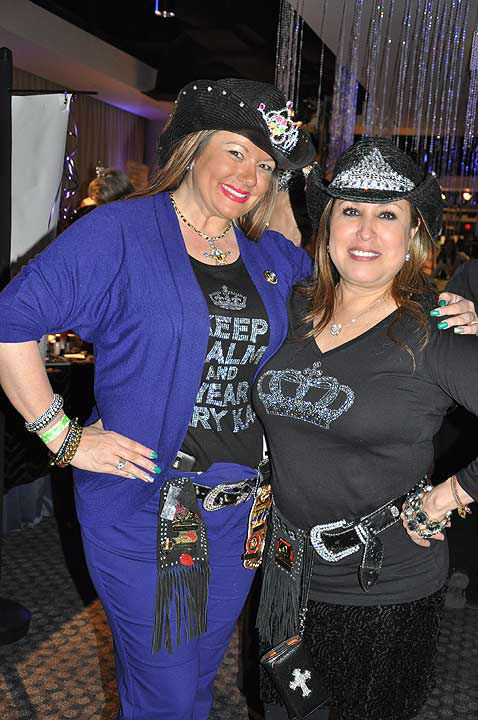 The Houston Livestock Show and Rodeo Trailblazer Committee hosted Cowgirls, Crystal and Tiaras -- A Royal Ladies Night Out on Tuesday, March 5, 2013.  The fun-filled event has been held each year since 2006, and has hosted a sell-out crowd of 550 ladies in the largest top floor party at RodeoHouston.  The event draws a crowd from across the city of Houston, as ladies enjoy food, friends and surprises, from photos, makeup artists and more.  <span class=meta>(KTRK Photo)</span>