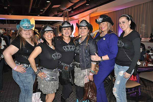 "<div class=""meta image-caption""><div class=""origin-logo origin-image ""><span></span></div><span class=""caption-text"">The Houston Livestock Show and Rodeo Trailblazer Committee hosted Cowgirls, Crystal and Tiaras -- A Royal Ladies Night Out on Tuesday, March 5, 2013.  The fun-filled event has been held each year since 2006, and has hosted a sell-out crowd of 550 ladies in the largest top floor party at RodeoHouston.  The event draws a crowd from across the city of Houston, as ladies enjoy food, friends and surprises, from photos, makeup artists and more.  (KTRK Photo)</span></div>"