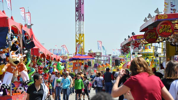 Images from the Carnival at the Houston...