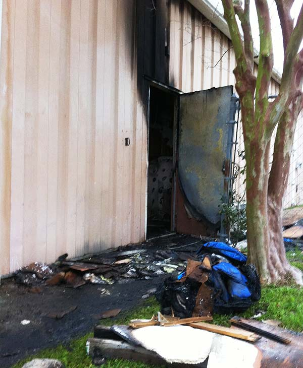 An education center building being used as a mosque in Clear Lake catches fire two days in a row &#40;Photo by: John Mizwa&#41; <span class=meta>(KTRK)</span>