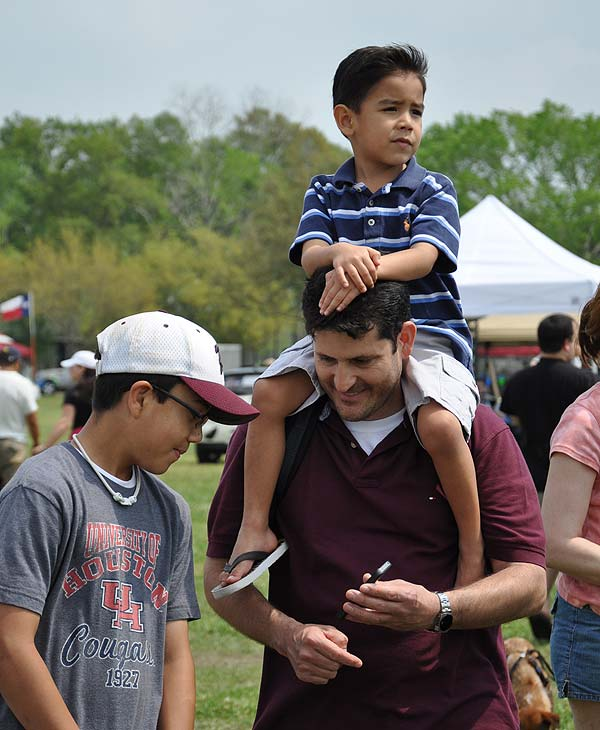 Paws in the Park was held in Pearland to...