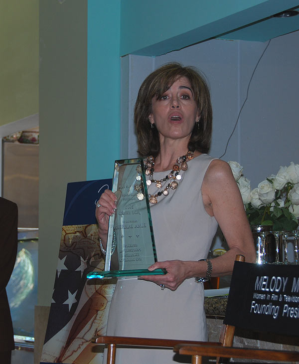 ABC-13 former reporter Elma Barrera was honored...