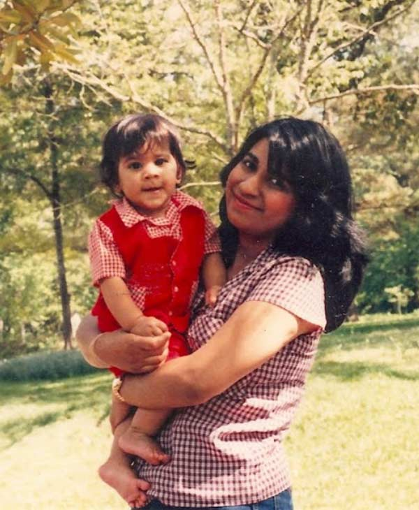 ABC-13 Reporter Pooja Lodhia and her mother <span class=meta>(Pooja Lodhia)</span>