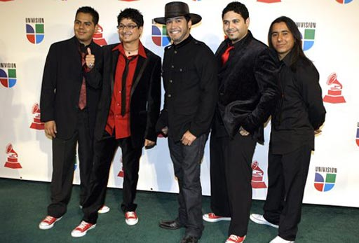 Music group La Mafia arrives at the 9th annual Latin Grammy Awards on Thursday, Nov. 13, 2008 in Houston. &#40;AP Photo&#47;LM Otero&#41; <span class=meta>(AP Photo&#47;LM Otero)</span>