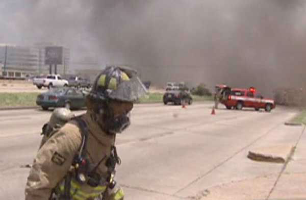 Photos from Friday&#39;s massive and tragic fire in southwest Houston that claimed the lives of four firefighters and left more than a dozen others  injured. <span class=meta>(ABC13)</span>