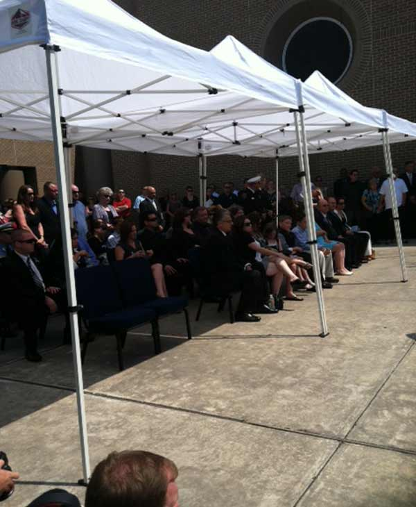 Images from HPD Officer Kevin Wills funeral...