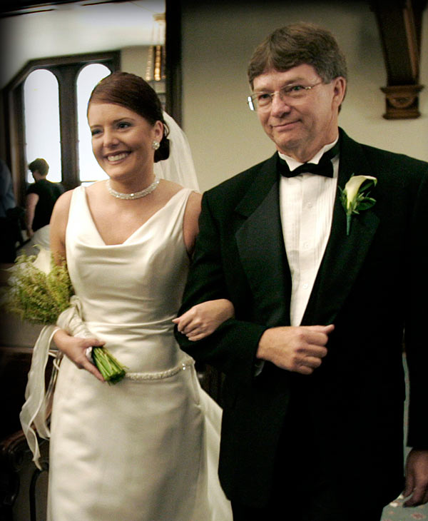 ABC-13 reporter Christine Dobbyn and her father <span class=meta>(Christine Dobbyn)</span>